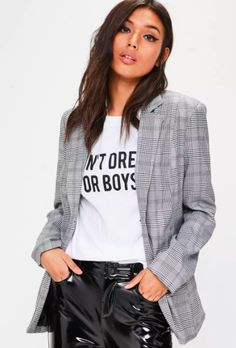 This Brand Can't Keep Its Checked Blazer In Stock+#refinery29