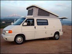 Photos VW Eurovan, Rialta, Westfalia and Airstream Campers Airstream Campers, Car Camper, Vw Eurovan Camper, Camper List, Conversion Vans For Sale, Airstream Interstate, T6 California, Van For Sale, Campers For Sale