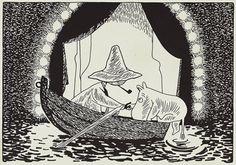 Snufkin and Moomin Moomin Tattoo, Moomin Books, Moomin Valley, Tove Jansson, Line Illustration, Baby Knitting, Fairy Tales, Art Projects, Art Drawings