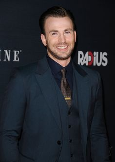 Chris Evans is so swoon-worthy!