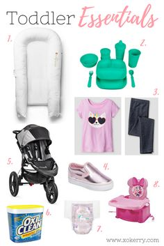 toddler essentials - xokerry