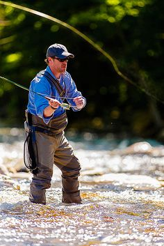 Fly-Fishing on a Ver