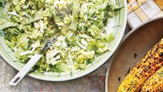 Raw broccoli is made for creamy summer slaw. It's sweet, crunchy, and can be dressed hours in advance.