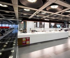 Lloyd's Servery and Seating