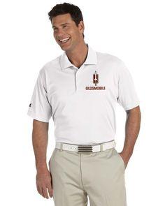 Oldsmobile Rocket Adidas Golf Men's climaliteÆ Basic Short-Sleeve Polo