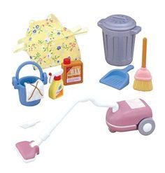 Settoka -607 Ki Sylvanian Families housekeeping cleaning