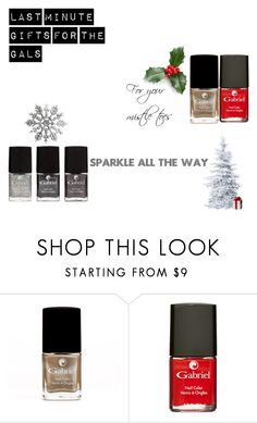"""""""Last Minute Gfts for the Gals"""" by jeanamelia on Polyvore featuring beauty"""