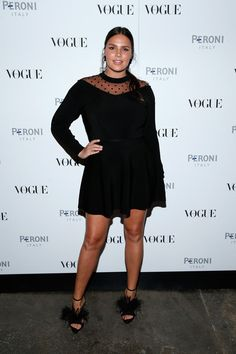 Candice Huffine Photos - Candice Huffine attends The Visionary World of Vogue Italia Exhibition Opening Night presented by Peroni Nastro Azzurro on October 14, 2014 in New York City. - The Visionary World of Vogue Italia Exhibition