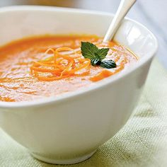 Delicious Vegan Carrot Ginger Soup