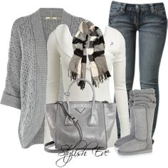 Wintery Comfort.