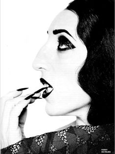 """Actress, fashion icon and singer, Rossy de Palma in 1988 broke the rules of beauty. A """"Picasso"""" face, she has been a muse for Pedro Almodovar and Jean-Paul Gaultier."""