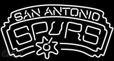 San Antonio Spurs NBA Neon Sign