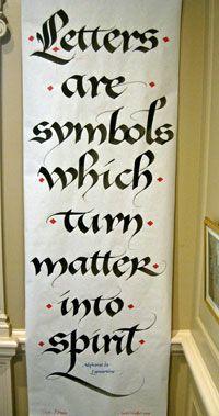 Letters, magic