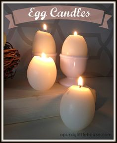 I love candles, and the wonderful ambient glow they emit. Inspired by one of natures most appealing shapes, I decided to try my hand at making candles using emp…