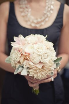 #blush #wedding #bouquet