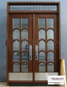 www.michelena.ca Michelena Portes de Bois Achitecturales China Cabinet, Furniture, Home Decor, Lineup, Puertas, Top, Woodwind Instrument, Crockery Cabinet, Decoration Home