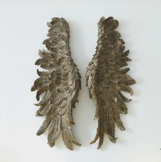 Made from sturdy resin with a distressed gold finish, these intricate oversized Gilded Angel Wings have a stylish distressed finish that make a striking statement, whether hung on the wall or propped against the fireplace. Angel Wings Wall Art, Diy Angel Wings, Jellycat, Candle Sconces, Decorative Accessories, Diy And Crafts, Wall Lights, Candles, Gifts