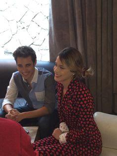 Nueva imagen en la conferencia de prensa, el día del estreno de #Violetta3. ❤️ *-*