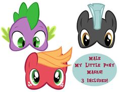 my little pony boy masks - Google Search