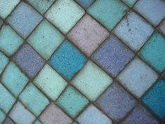 Beach glass colors.  Yum.