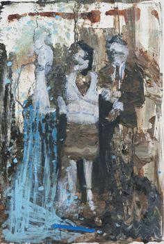 """Bartosz Beda; Painting, """"Family Portrait II"""""""