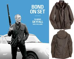 James Bond's Skyfall Jacket at Royal Male $799. But then I'm not Daniel Craig, and it probably looks rubbish on me. Also I don't have that kind of money.
