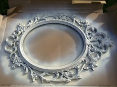 Ung Drill Mirror, painted