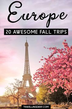 Let's explore the best fall destinations in Europe, for an amazing autumn trip! All the top fall events and festival, with info on fall weather and tips for every destionation on this list! Europe 1, Europe Travel Tips, Travel Guides, Backpacking Europe, Europe Packing, Packing Lists, Travel Hacks, Travel Packing, Travel Advice