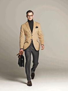 how to accessorise a black and white check bone suit - Google Search