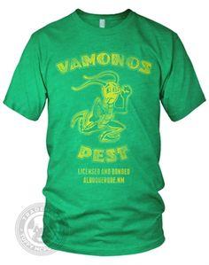 Vamonos Pest funny Breaking Bad tented house meth lab company from Breaking Bad on American Apparel T Shirt #breakingbad #tuffymcpuggles #americanapparel