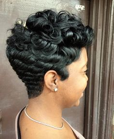Flawless cut and style by @artistry4gg  Read the article here - http://www.blackhairinformation.com/hairstyle-gallery/flawless-cut-style-artistry4gg-2/