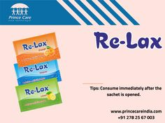 Re-lax provides relief from the discomfort of acidity. #Healthcare www.princecareindia.com Health Care, Personal Care, Health