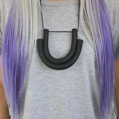 Double U Necklace by Another Human Design | http://adornmilk.com