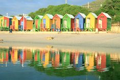 Beach Huts in Cape Town South Africa Beach Cabana, Beach Huts, Beach Hut Decor, Hut House, Africa Destinations, Summer Memories, African Safari, Vacation Packages, Summer Of Love