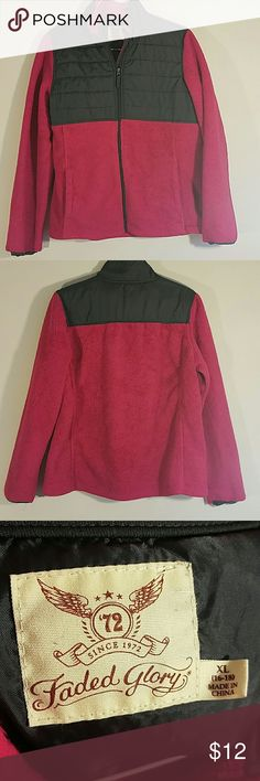 Pink polyester coat by Faded Glory Great condition. Message me with any questions Faded Glory Jackets & Coats