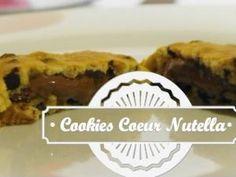 PÂTISSERIE | Cookies au cœur fondant de Nutella ♥ • Hellocoton.fr
