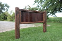 Truly unique Reclaimed Queen Headboard. Created from antique barn wood and tin roofing. You will appreciate how these materials blend to make