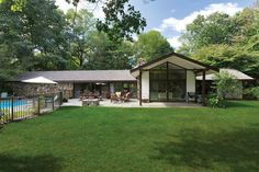 Mid-Century Ranch ... 21 Wooddale Road,Greenwich CT. Represented by Tracey Koorbusch. To see more eye candy on this home go tohttps://www.halstead.com/sale/ct/greenwich/21-wooddale-road/house/99132527