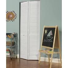 Pinecroft Seabrooke Pvc Louvered Bifold Door White Louvered Bifold Doors Bifold Door Hardware Bifold Doors