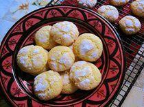 Ghoriba dyal Smida - Moroccan Semolina Cookies