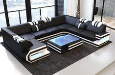 Leather Interior Design Corner Couch Designersofa Ragusa u Shape Ottoman Sofa Furniture, Luxury Furniture, Living Room Furniture, Living Room Decor, Furniture Design, Antique Furniture, Rustic Furniture, Modern Furniture, Outdoor Furniture