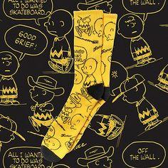 bd86b6964350 Vans x Peanuts Crew Sock