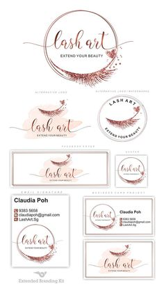 Lashes logo, Eyelash logo, Cosmetics logo, Premade Branding … – About Graphic Design Cosmetic Logo, Logo Design, Graphisches Design, Graphic Design, Eyelash Logo, Makeup Artist Logo, Lashes Logo, Branding Kit, Cards For Friends