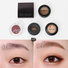There are quite a lot of people who want a makeup tutorial. There are quite a lot of people who want a makeup tutorial, finally! I brought it u. Monolid Eyes, Monolid Makeup, Smokey Eyes, Asian Makeup Tutorials, Korean Makeup Tips, Asian Eye Makeup, Make Up Looks, Makeup Inspo, Makeup Inspiration