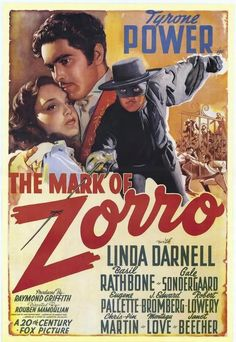 Tyrone Power - 100 Years of Movie Posters - 93