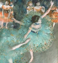 With a new exhibition on the work of French artist Edgar Degas opening soon at the Museum of Modern Art in New York, Harper's Bazaar commissioned photograp