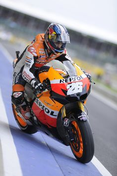 Dani Pedrosa, Honda. Foto: Bridgestone Motorsport