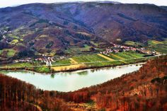 Wachau Danube Valley at Willdendorf - Austria - a selection - Menega Sabidussi . Digital Art & Photography