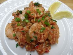Shrimp Perloo - a wonderful Southern seafood and rice dish