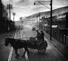 W. Eugene Smith - A Welsh Town, Great Britain, 1950 FromW. Eugene Smith / Magnum Photos